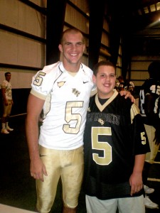 Blake Bortles and Oviedo Challenger buddy CJ Williams