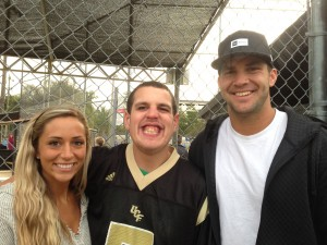 Blake Bortles, Lindsey Duke and Oviedo Challenger buddy CJ Williams