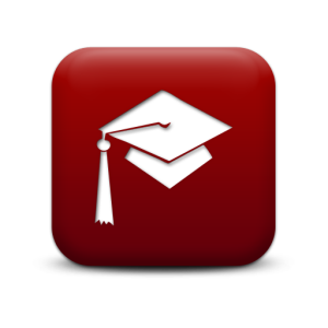 129351-simple-red-square-icon-people-things-hat-graduation