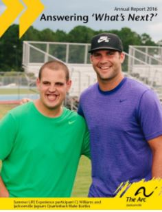 TOP QUARTERBACK DRAFT PICK BLAKE BORTLES HOLDS THE LITTLE LEAGUE CHALLENGER DIVISION® CLOSE TO HIS HEART