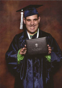 CJ Cap & Gown with Diploma